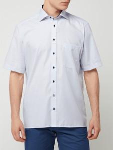 Koszula Eterna z bawełny z krótkim rękawem