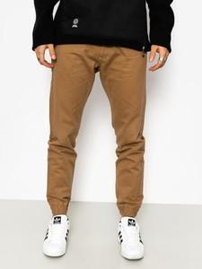 Brązowe spodnie Massdnm