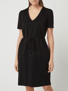 Sukienka S.Oliver Black Label z dekoltem w kształcie litery v