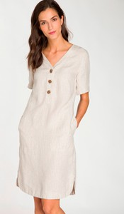 Sukienka Olsen z lnu