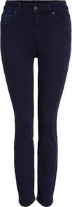 Niebieskie jeansy OUI w stylu casual