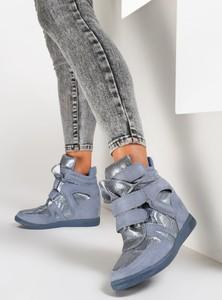 Renee niebieskie sneakersy strangers