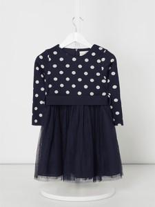 Granatowa sukienka dziewczęca Eisend