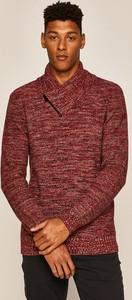 Czerwony sweter Medicine w stylu casual z dzianiny
