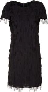 Sukienka Poza mini z krótkim rękawem prosta