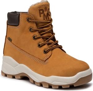 Buty dziecięce zimowe Primigi sznurowane z goretexu