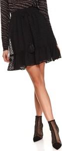 Spódnica Top Secret mini w stylu boho