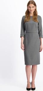 Sukienka Lavard z długim rękawem midi