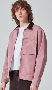 Fioletowa kurtka Reserved krótka w stylu casual