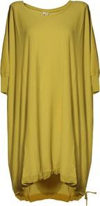Sukienka European Culture mini z okrągłym dekoltem