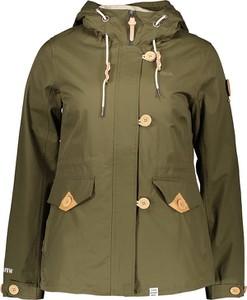 Zielona kurtka khujo w stylu casual krótka