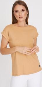 T-shirt Diverse z długim rękawem z okrągłym dekoltem