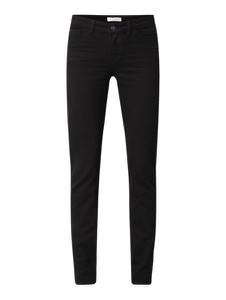 Czarne jeansy Christian Berg Women z bawełny w stylu casual