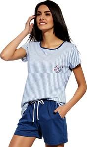 Niebieska piżama Cornette