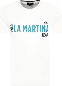 T-shirt La Martina w młodzieżowym stylu