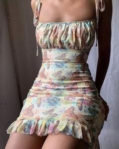 Sukienka Kendallme mini na ramiączkach