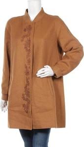 Brązowy płaszcz La Fiancee Du Mekong w stylu casual
