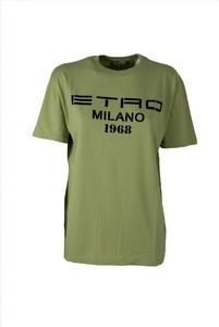 T-shirt Etro z okrągłym dekoltem