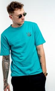 T-shirt Jigga Wear z krótkim rękawem z bawełny