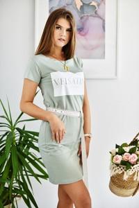 Sukienka Paris z bawełny mini
