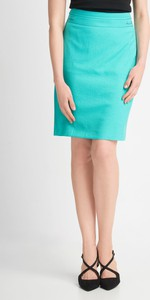 Niebieska spódnica QUIOSQUE mini