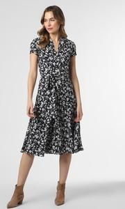 Sukienka Ralph Lauren w stylu casual midi z dekoltem w kształcie litery v