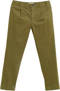 Zielone spodnie dziecięce Bellerose