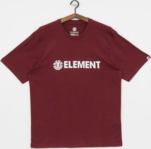T-shirt Element z żakardu