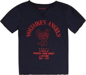 Bluzka dziecięca Zadig & Voltaire dla chłopców z krótkim rękawem z bawełny