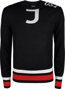Sweter Just Cavalli z nadrukiem