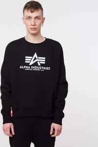 Czarny sweter Alpha Industries