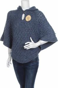Niebieski sweter RM w stylu casual