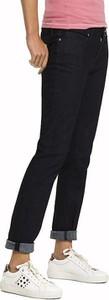 Czarne jeansy Tommy Hilfiger z jeansu w młodzieżowym stylu