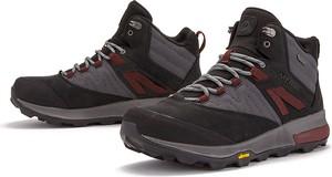 Czarne buty zimowe Merrell sznurowane