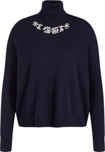 Granatowy sweter Liu-Jo