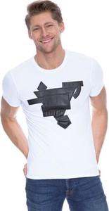 T-shirt Guess z dżerseju