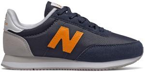 Czarne buty sportowe dziecięce New Balance z zamszu