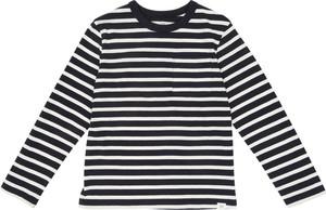 Koszulka dziecięca Gap w paseczki z dżerseju
