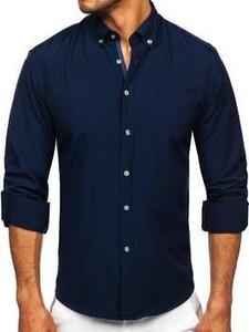 Koszula Denley z kołnierzykiem button down z długim rękawem w stylu casual