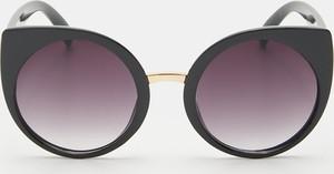 Czarne okulary damskie Sinsay