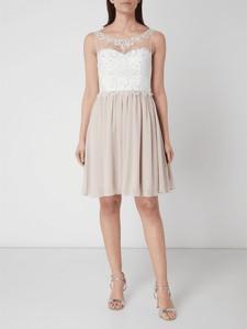 Sukienka Laona bez rękawów z szyfonu
