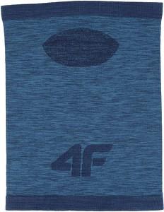 Niebieski szal męski 4F