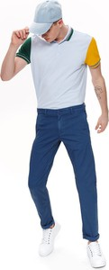 Niebieskie spodnie Top Secret z tkaniny