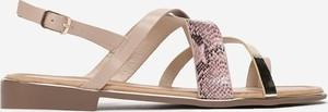 Sandały Multu w stylu casual ze skóry