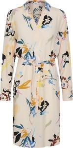 Sukienka Saint Tropez z długim rękawem koszulowa mini