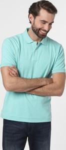 Zielona koszulka polo Nils Sundström z krótkim rękawem