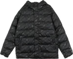 Czarna kurtka Adidas w stylu casual krótka