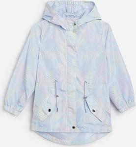 Niebieski płaszcz dziecięcy Reserved