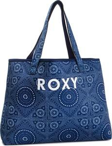 Niebieska torebka Roxy duża w młodzieżowym stylu