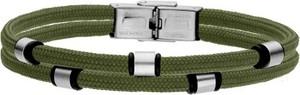 Manoki BA733Z zielona bransoletka męska beads